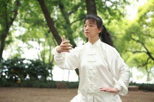 Taiji practice