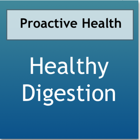 Healthy Digestion using Meridian Massage