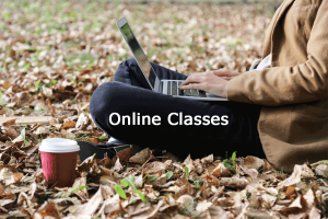 Click for online classes!