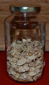 Astragalus in jar