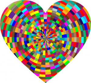 colorful heart illustration