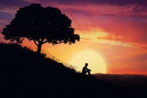 Healing at sunrise