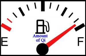 Qi tank full