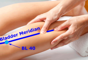 Bladder Meridian and BL 40