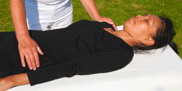 hands-on massage