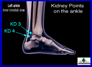 Kidney 4 Acupressure Point